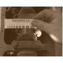 Plastové měřidlo 0,025 - 0,175 mm